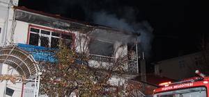 Taşova'da ev yangını