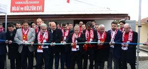Beşen Mahallesi Bilgi ve Kültür Evi hizmete açıldı