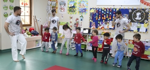 Çaykara Capoeira ile tanıştı