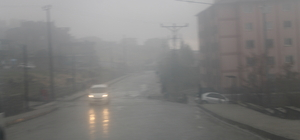 Şırnak'ta sis