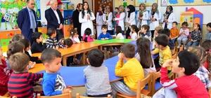 Lapseki'de öğrencilere ağız ve diş sağlığı eğitimi