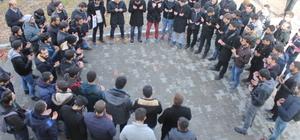 YYÜ'de, Halep'te hayatını kaybedenler için dua