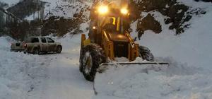 Suşehri'nde kar yağışı