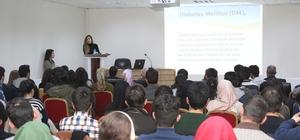 BEÜ'de 'diyabet için farkındalık' konferansı