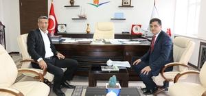 Başkan Yalçın'dan ziyaretler