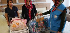 Haliliye Belediyesinden bebeklere hediye