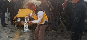 Bitlis'te trafik kazası, 4 yaralı