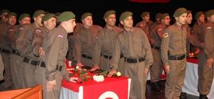 Bartın'da 365'inci kısa dönem Jandarma erler törenle yemin etti