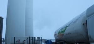 MŞÜ'de LNG sistemi devreye giriyor