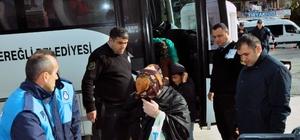 Ereğli'de dilenci operasyonu