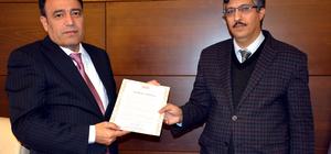 BÜ'de sertifika töreni