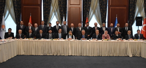 Kırşehir'in sorunları Ankara'da dile getirildi