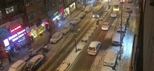 Van'da kar yağışı