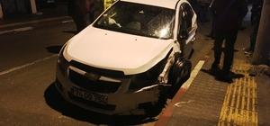 Bartın'da trafik kazası: 3 yaralı