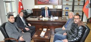 Göreme Belediye Başkanı Cingil, Artunay'ı ziyaret etti