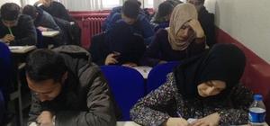Tatvan'da öğrencilere YGS denemesi
