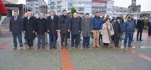 Sinop'ta Engelliler Günü çelenk töreni