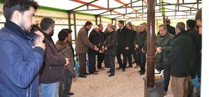 Vali Çınar'ın taziye ziyareti