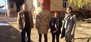 Adana Tabip Odası ve Adana Barosu heyeti Aladağ'da incelemelerde bulundu