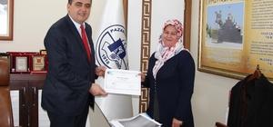 Pazaryeri'nde KOSGEB sertifikaları dağıtıldı