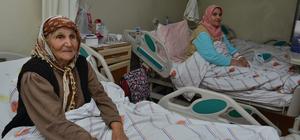 Başkan Kocamaz'ın hasta ziyaretleri