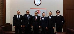 Lider İş Adamları Vali Çelik'i ziyaret etti