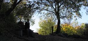 Karasu Çayı'nda sonbahardan kalma manzaralar