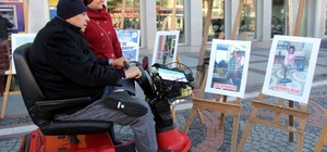 Engellilere bir de bu gözle bakın fotoğraf sergisi