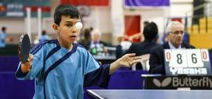 İlçe spor şenlikleri masa tenisi turnuvası tamamlandı