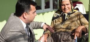 Başkan Kılınç, Köşk'te engellileri yalnız bırakmıyor