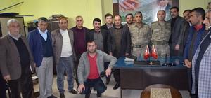 Komutanlardan Sason Güvenlik Korucuları Derneği'ne ziyaret