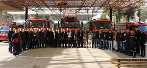Manisa İtfaiye Daire Başkanlığı'na 54 yeni personel katıldı