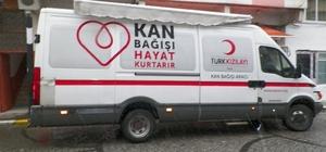 Doğankent'te kan bağışı kampanyası