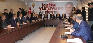 Bakan Özhaseki AK Parti İstişare  Toplantısına katıldı