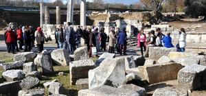 Muğlalı 250 engelli vatandaş ilk kez antik kent gördü