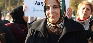 AK Kadınlar engelsiz bir dünya için yürüdüler