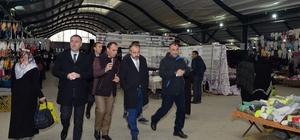 """İnegöl Belediye Başkanı Aktaş: """"Bursa'nın en büyük pazaryerine sahibiz"""""""