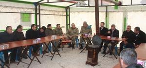 Bitlis Valisinden Fırat Kalkanı şehidinin ailesine taziye ziyareti
