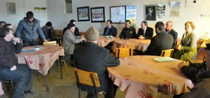 Malkara'da halkla buluşma toplantıları devam ediyor