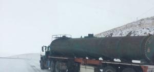 Kars'ta kar, kazaları da beraberinde getirdi