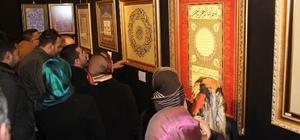 """Ankara'dan Kars'a """"Geleneksel Türk Süsleme Sanatları Sergisi""""nin açılışı yapldı"""