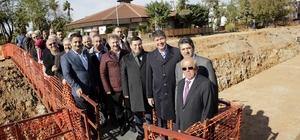 Başkan Türel, yatırım projelerini inceledi