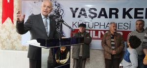 Yenimahalle'de Yaşar Kemal Kütüphanesi açıldı