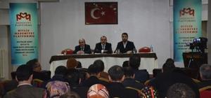 Bitlis'te imam hatip okullarının sorunları tartışıldı