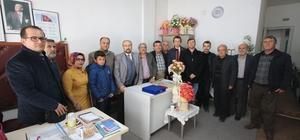 Başkan Özaltun'dan Engelliler Derneği'ne ziyaret