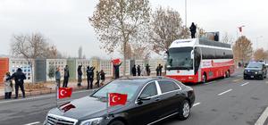 Cumhurbaşkanı Erdoğan, Kayseri'ye geldi