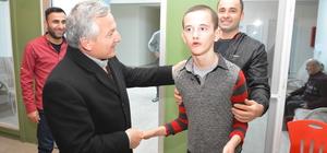 Başkan Kerman, Engelli Bakım Merkezini ziyaret etti
