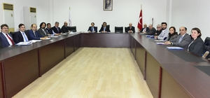 BEÜ Kalite Komisyonu toplantısı gerçekleştirildi