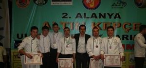 BEÜ Aşçılık Programı yeni altın madalyasına hazırlanıyor
