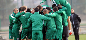 Bursaspor, Çaykur Rizespor maçına hazır